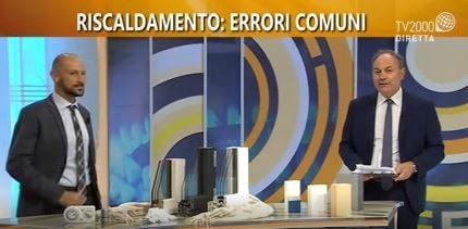 intervista a Nicolandrea Calabrese a TV 2000