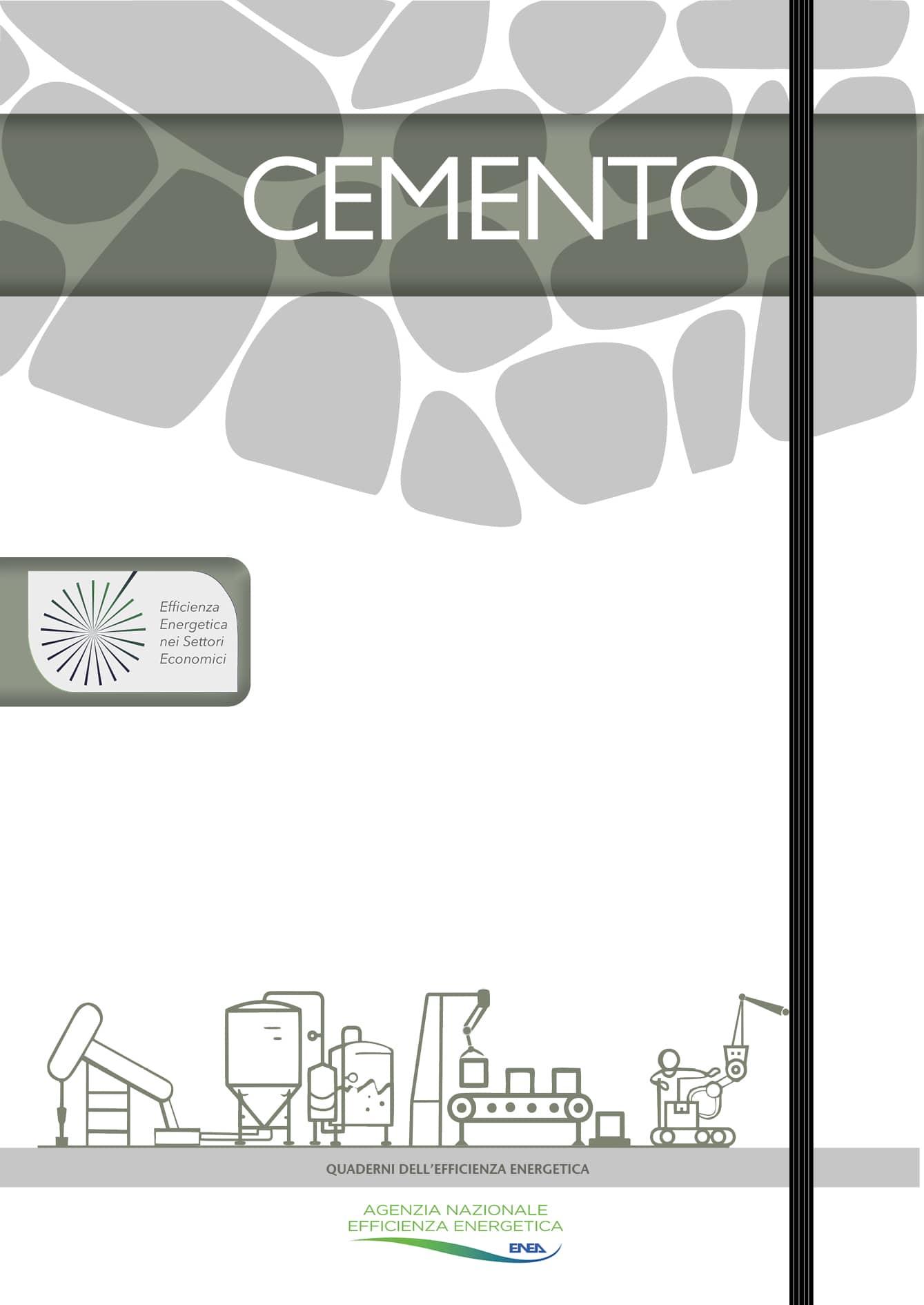 Copertina Opuscolo Quaderni dell'Efficienza Energetica - CEMENTO