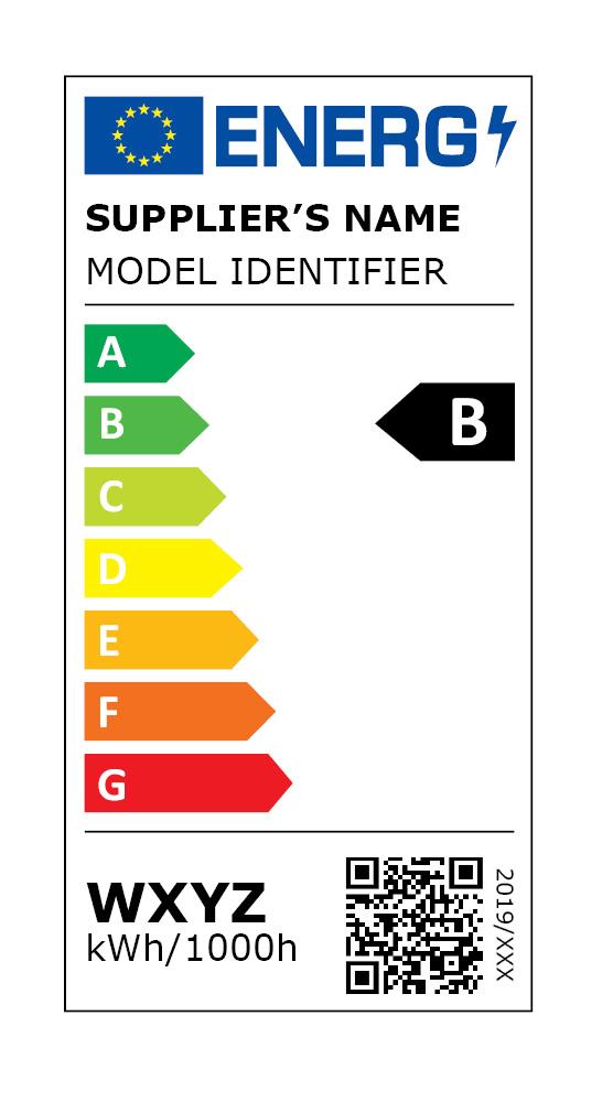 etichetta energetica UNIONE EUROPEA