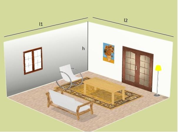 schema della stanza